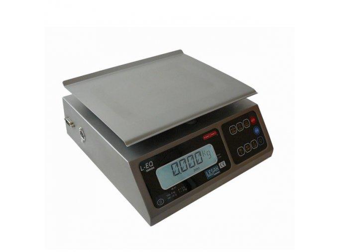 TORREY LEQ-8, 8kg, 245mmx190mm, technologická  Nerezová kontrolní váha do skladu, výroby a kuchyně
