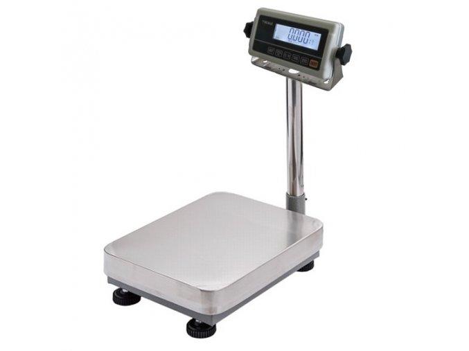 LESAK 1T3040LN-RWP/DR, 15;30kg/5;10, 300x400mm, lak/nerez  můstková váha s možností ES ověření (cejchování) pro všechny provozy