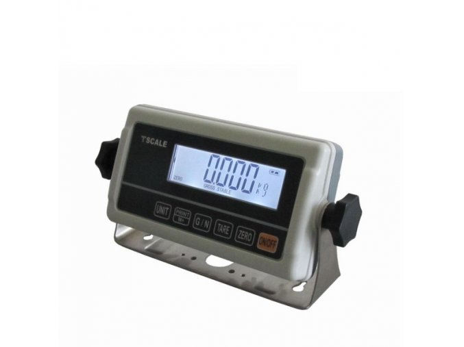 LESAK 1T4560LN-RWP, 300kg, 450mmx600mm, lak/nerez, úlová váha