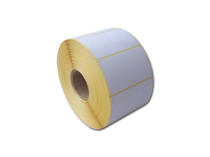 Termo etikety 60 x 60,TE 60/60, 60x60, 750 etiket/kotouček, karton