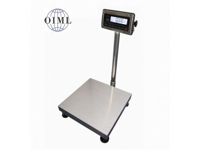 Váha můstková nerezová do 150kg 1T4040NNRWS/DR, 400x400mm, nerez-nerez