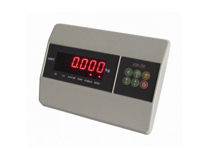 YAOHUA T6, IP-54, plast, LED  Vážní indikátor pro kontrolní vážení