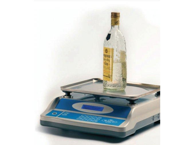 Flascomp 3kg  Váha pro zjišťování objemu tekutin a počítání mincí