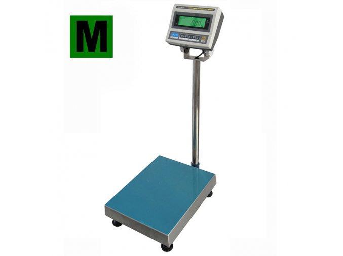 Váha můstková do 15 kg, 300x300mm, s indikátorem CAS DBI