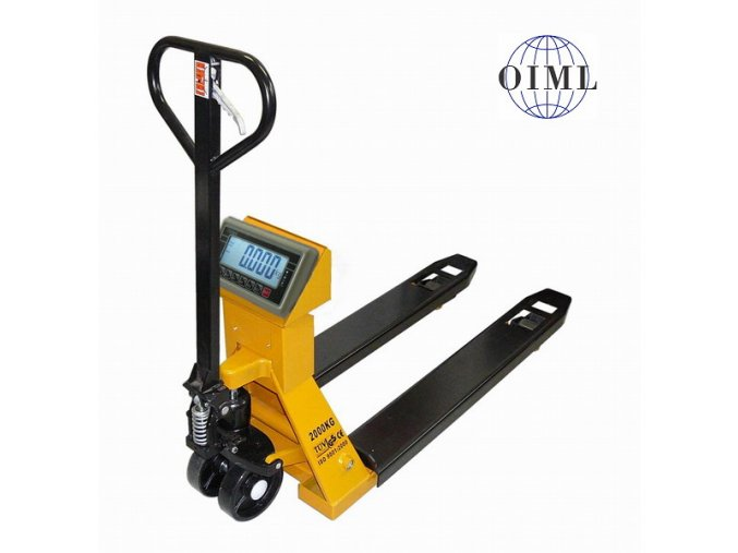 LESAK PV4TBW1500, 1,5t, 550mmx1150mm, vážicí paletový vozík