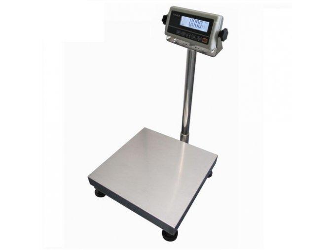 LESAK 1T3030LN-RWP/DR, 30;60kg/10;20g, 300x300mm, lak/nerez  můstková váha s možností ES ověření (cejchování) pro všechny provozy