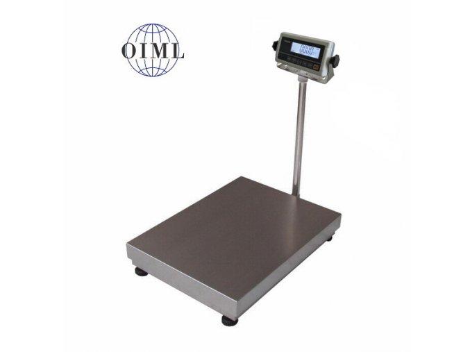 LESAK 1T4560LN-RWP/DR, 15;30kg/5;10g, 450x600mm, l/n  můstková váha s možností ES ověření pro všechny provozy