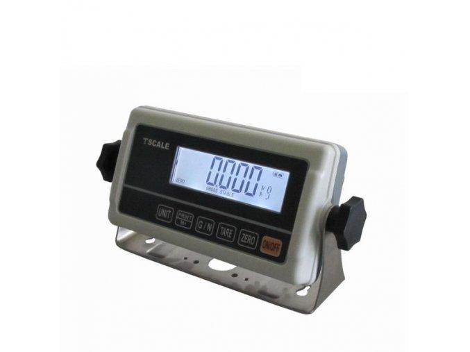 LESAK 1T6060LN-RWP, 150kg, 600mmx600mm, lak/nerez, úlová váha