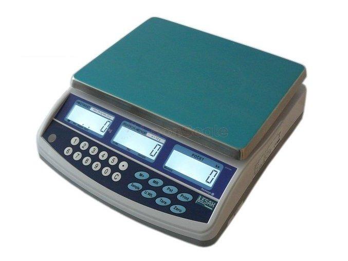 Počítací váha TSCQHC 3kg se zákaznickým displejem