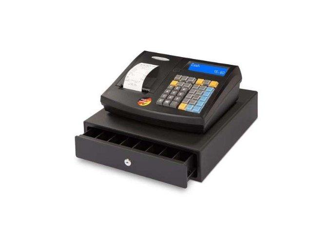 Quorion QMP 50 2xRS/USB/LA, registrační pokladna se zásuvkou černá