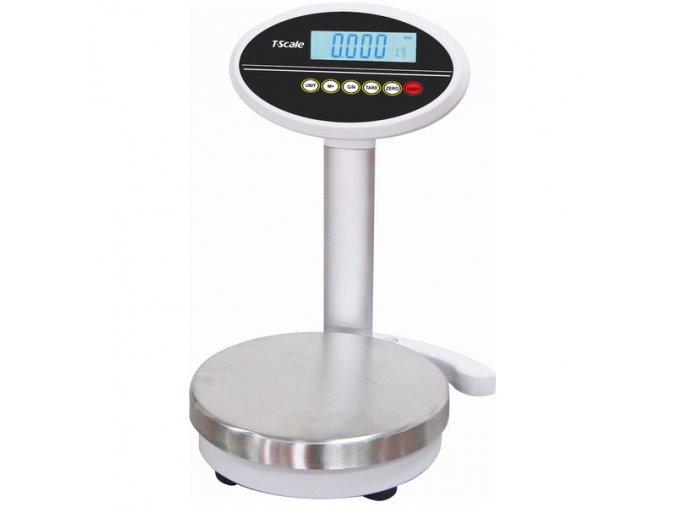 TSCALE ROW++15k, 15kg/0,1g, 232mm  Vysoce přesná váha, ideální na míchání barev