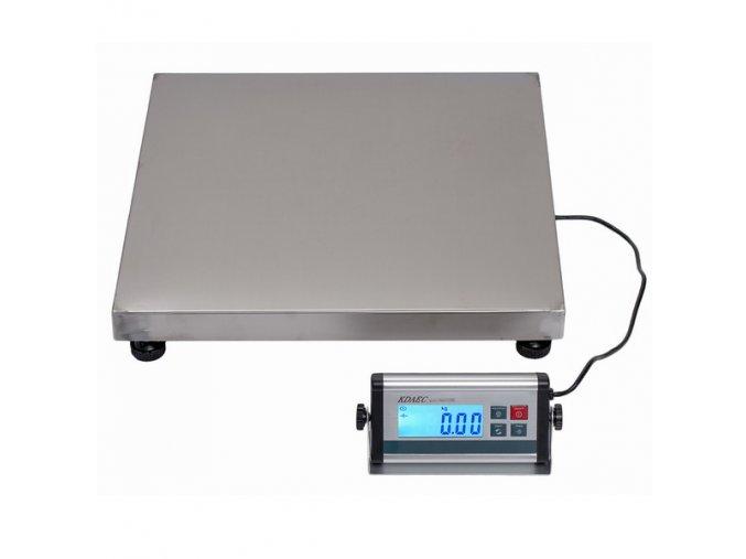 LESAK KDAEC-5050, 75kg, 500mmx500mm, můstková váha  Univerzální odolná váha pro kontrolní vážení