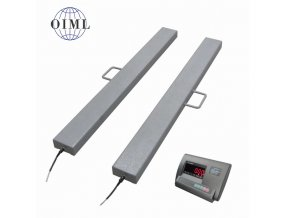 LESAK 4TVLL1250A12, 1,5t/0,5kg, 120mmx1250mm, lak