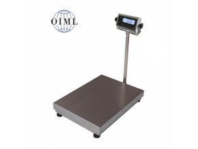 LESAK 1T4560LN-RWP/DR, 150;300kg/50;100g, 450x600mm, l/n  můstková váha s možností ES ověření pro všechny provozy