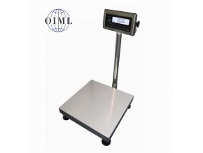 LESAK 1T4040NNRWS/DR, 15;30kg/5;10g, 400x400mm, nerez-nerez