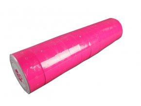 Etikety do kleští ColaPly 22x12 růžové