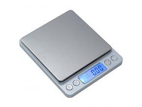 P221 s USB, 500g/0,01g, 100mmx100mm  Přesná váha s USB nabíjením