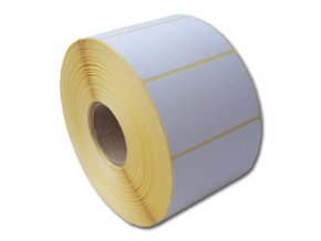 Termo etikety 60 x 39,TE 60/39, 60x39, 1000 etiket/kotouček, karton