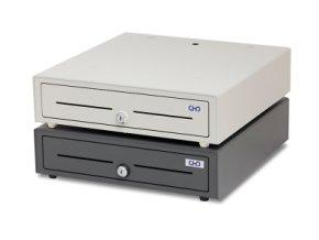 Pokladní zásuvka velká CHD 3850, 40x41x10 - ROZBALENO  Rozbalená pokladní zásuvka, poškozený obal