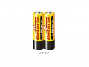 Baterie 2x AA 1.5V alkalická