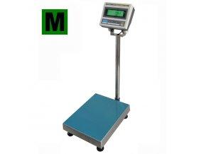 Váha můstková do 30 kg, 300x300mm, s indikátorem CAS DBI