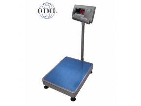 LESAK 1T3040LN-A12, 150kg/50g, 300x400mm, lak/nerez  můstková váha s možností ES ověření (cejchování) pro všechny provozy