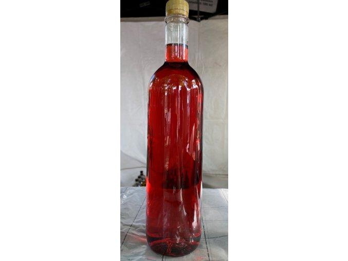 Víno ovocné polosladké Malinové 1L