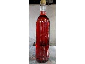 Malinové ovocné víno polosladké  1L