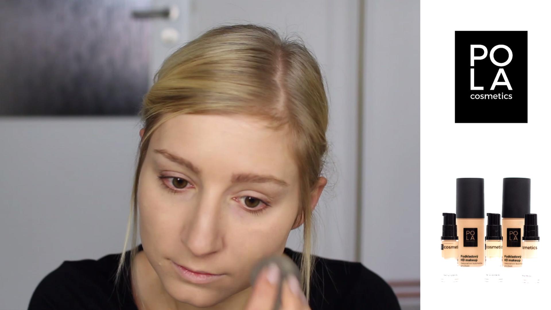 Testování a recenze HD makeupu Pola Cosmetics - flabgee - Eva Šedivá