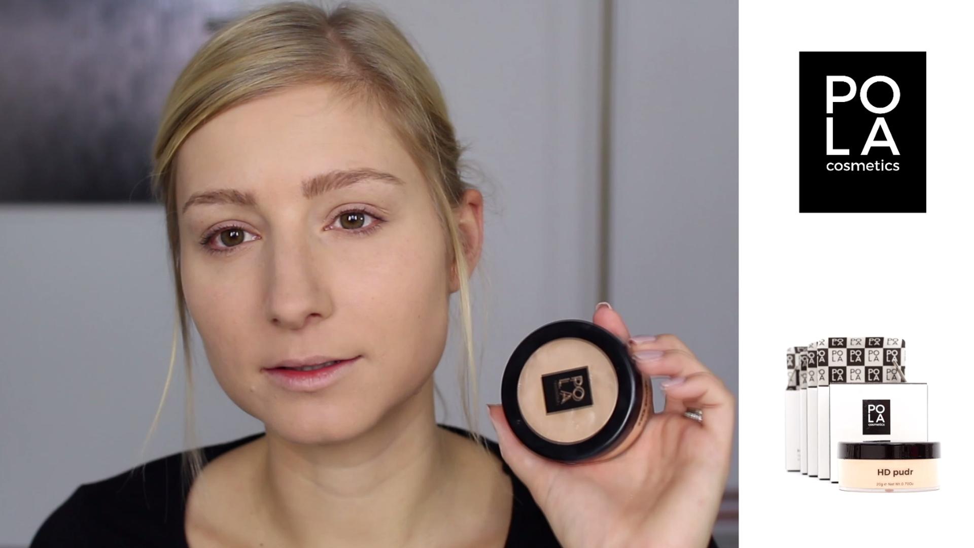 Testování a recenze HD pudru Pola Cosmetics - flabgee - Eva Šedivá