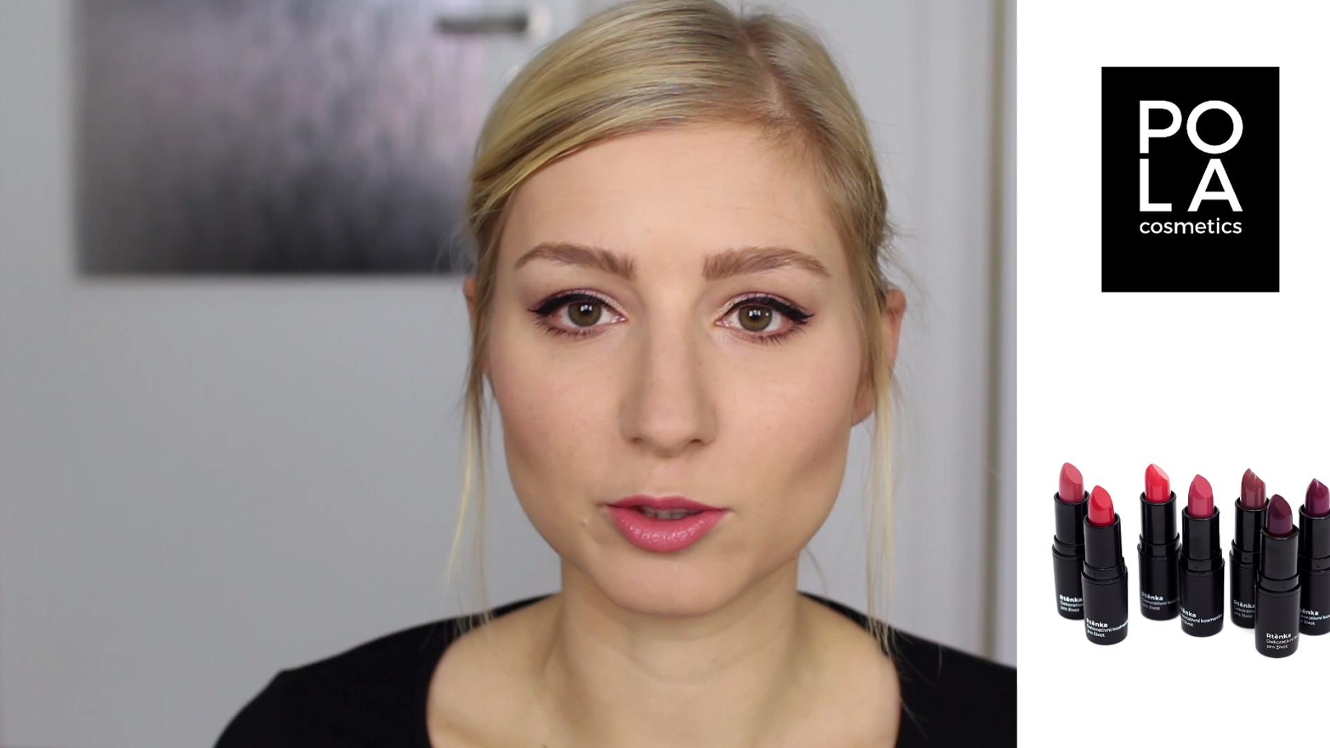 Testování a recenze rtěnky 106 Pola Cosmetics - flabgee - Eva Šedivá