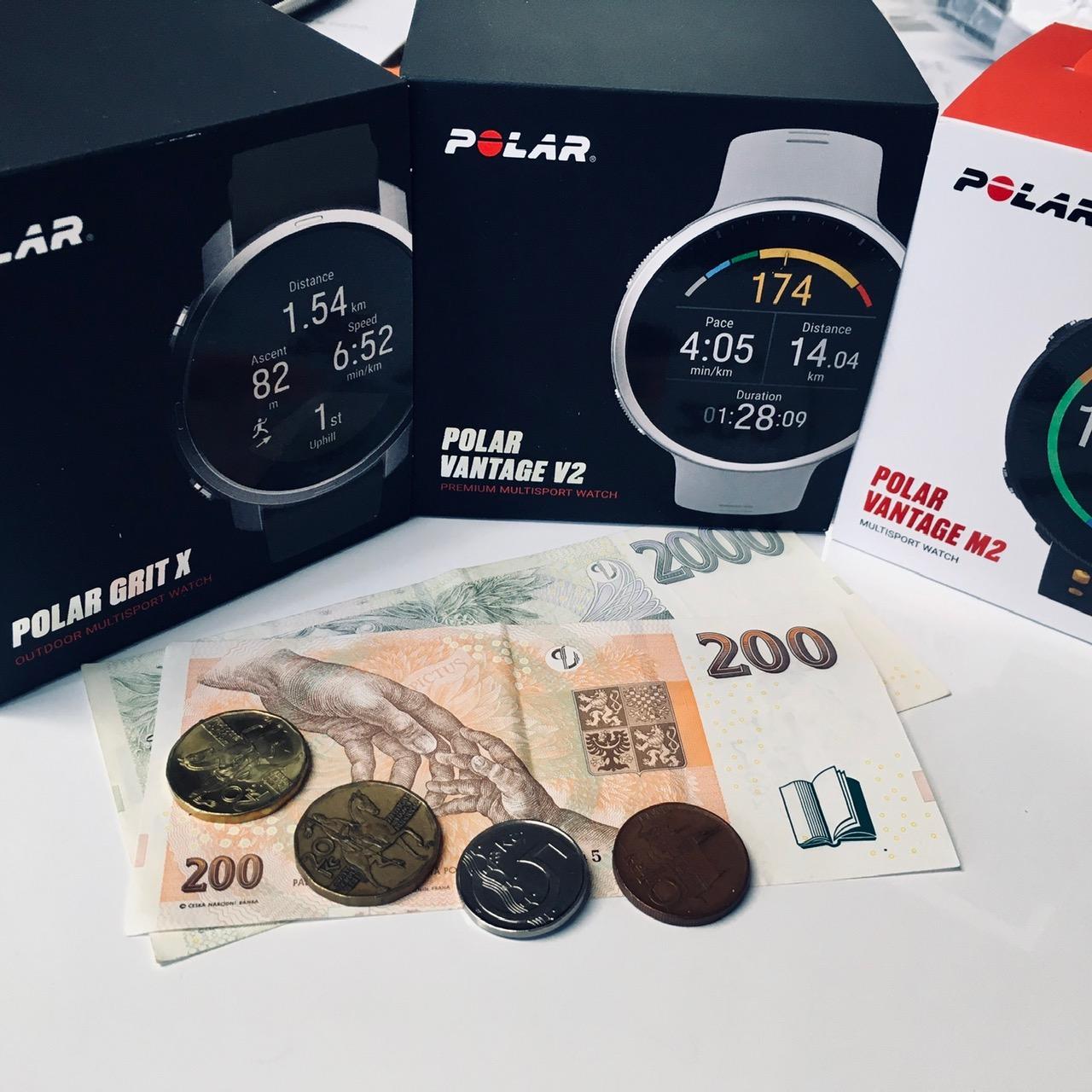 AKCE - sleva na POLAR až 2.390Kč