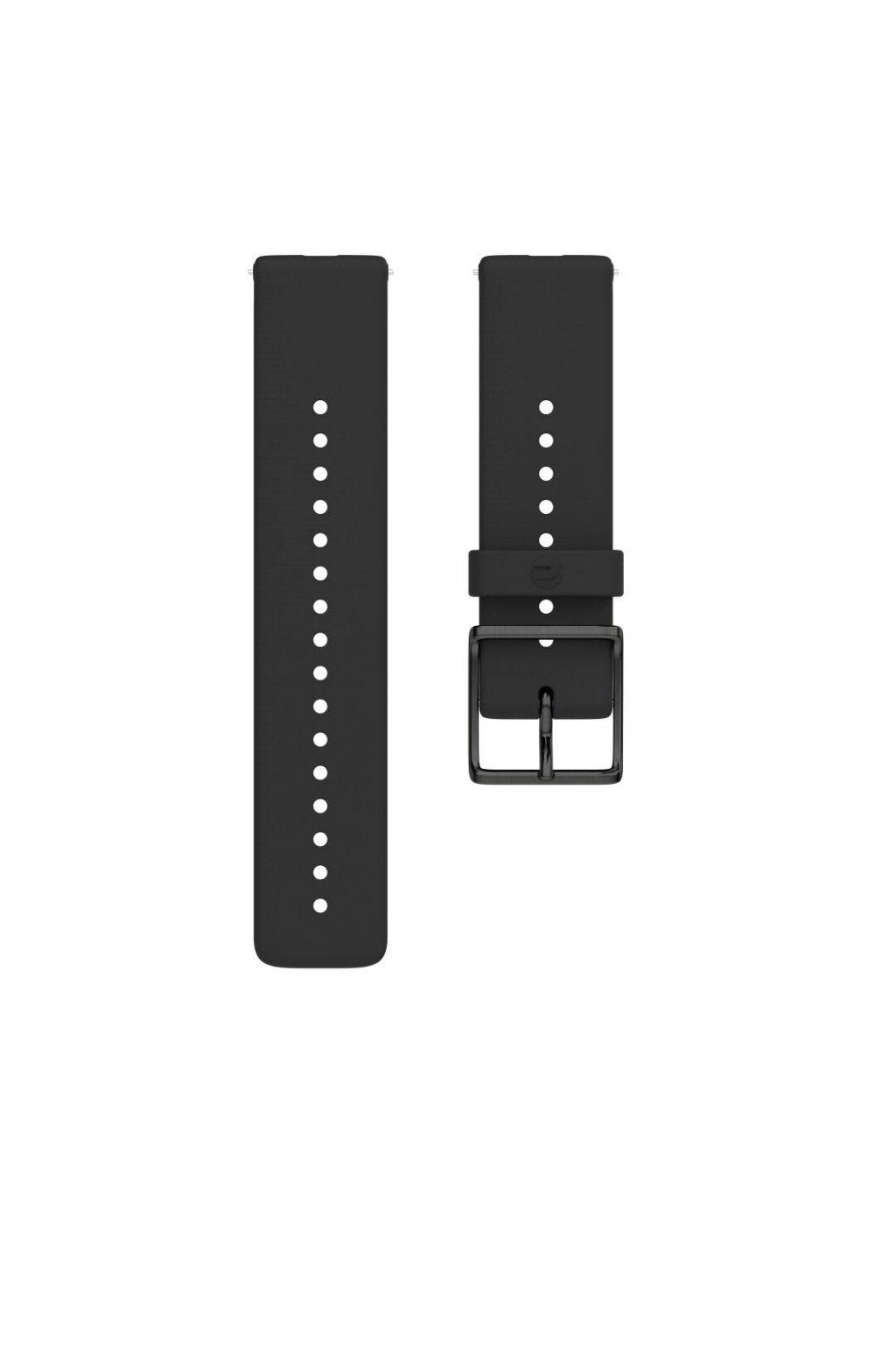 Ignite accessory silicone wristband front black S (1)