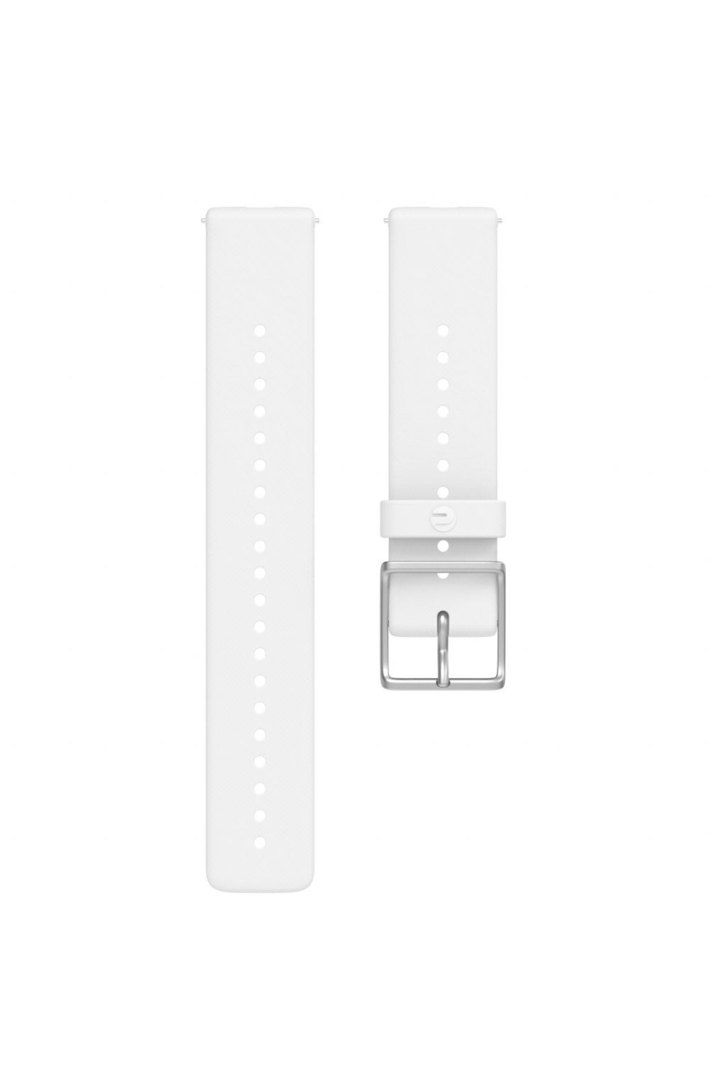Ignite accessory silicone wristband front white M L (1)