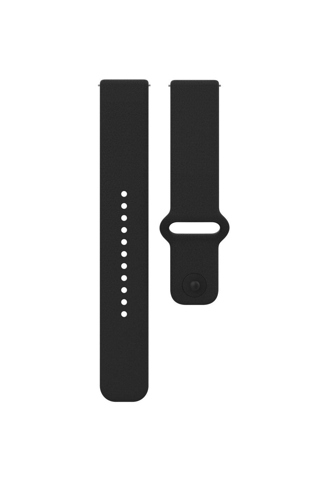 Polar Unite accessory silicone wristband black