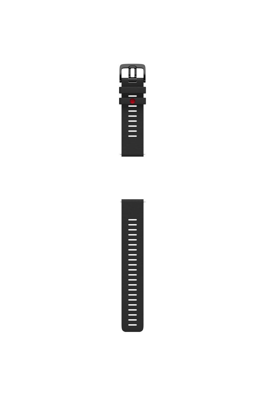 Polar Grit X wristband silicone black (1)