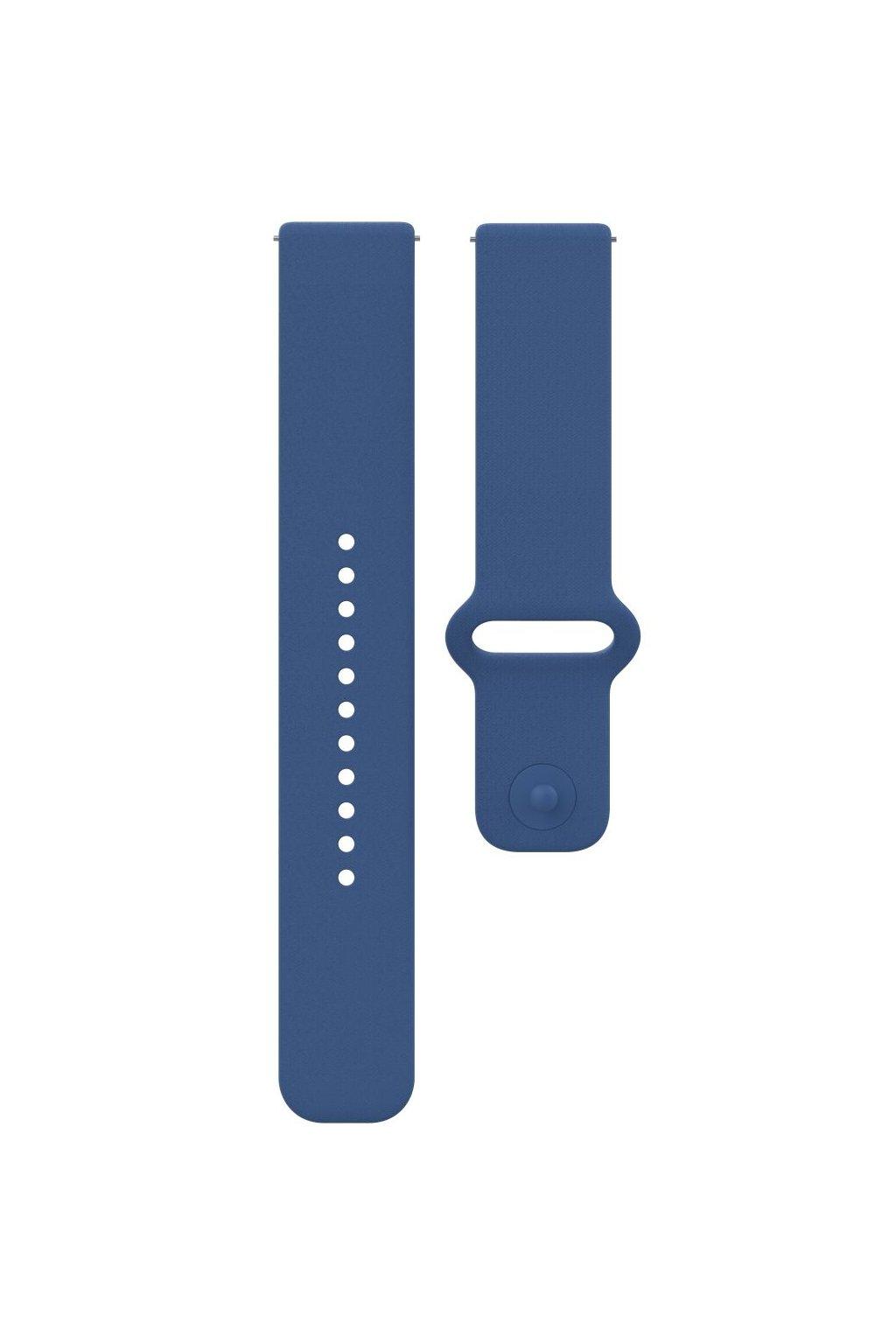 Polar Unite accessory silicone wristband blue