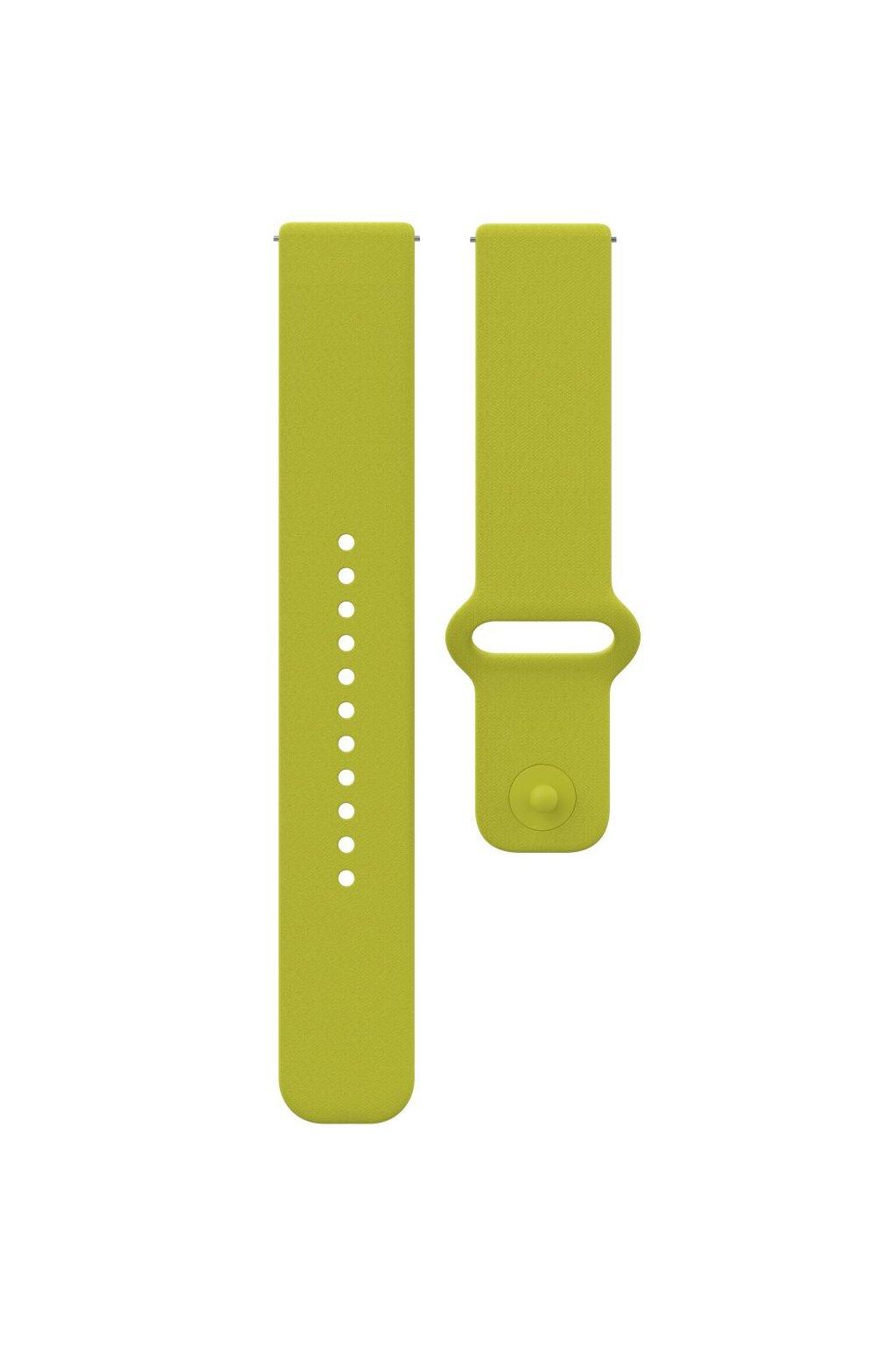 Polar Unite accessory silicone wristband lime