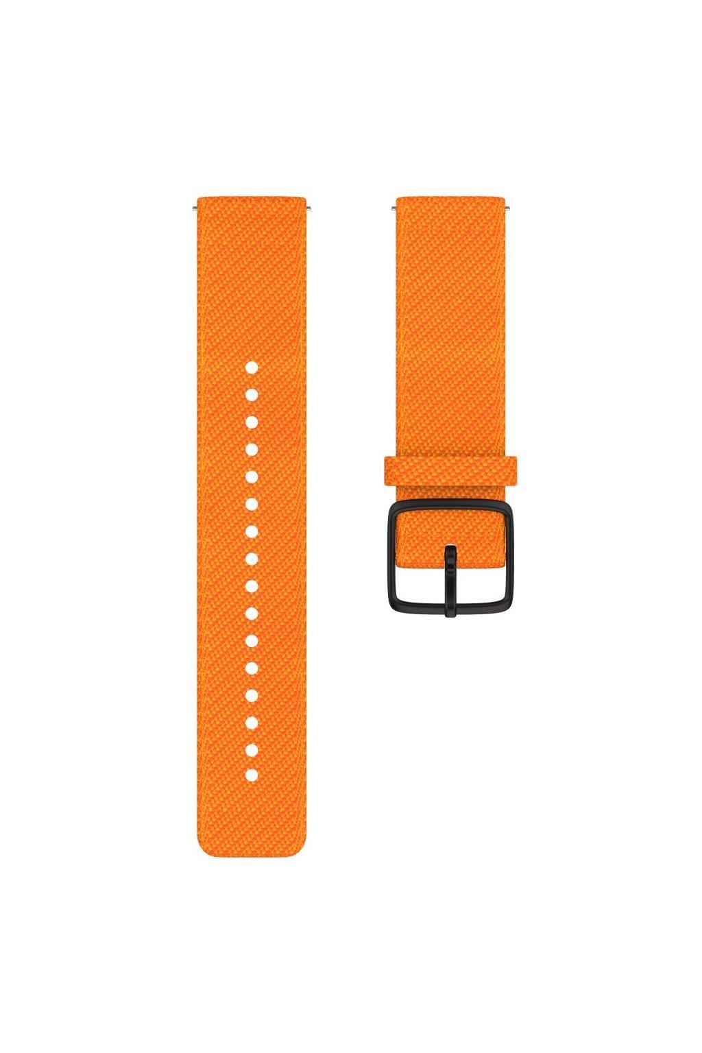 Vantage M accessory woven wristband front orange