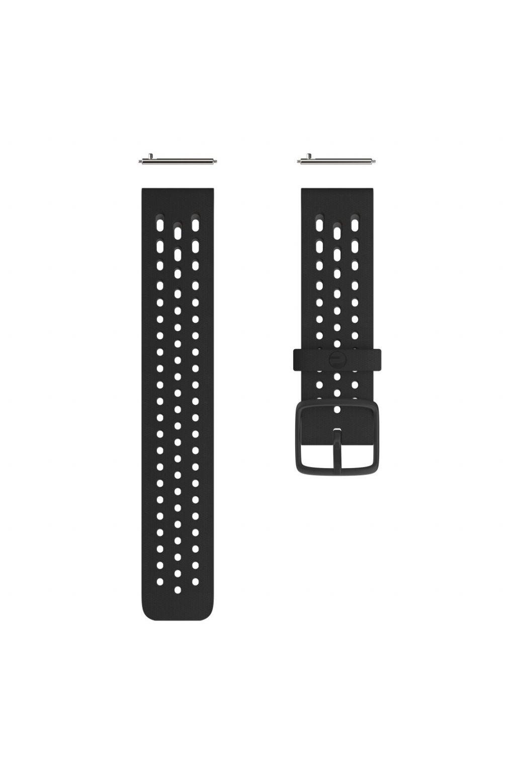Polar Vantage M2 Accessory wristband front Black