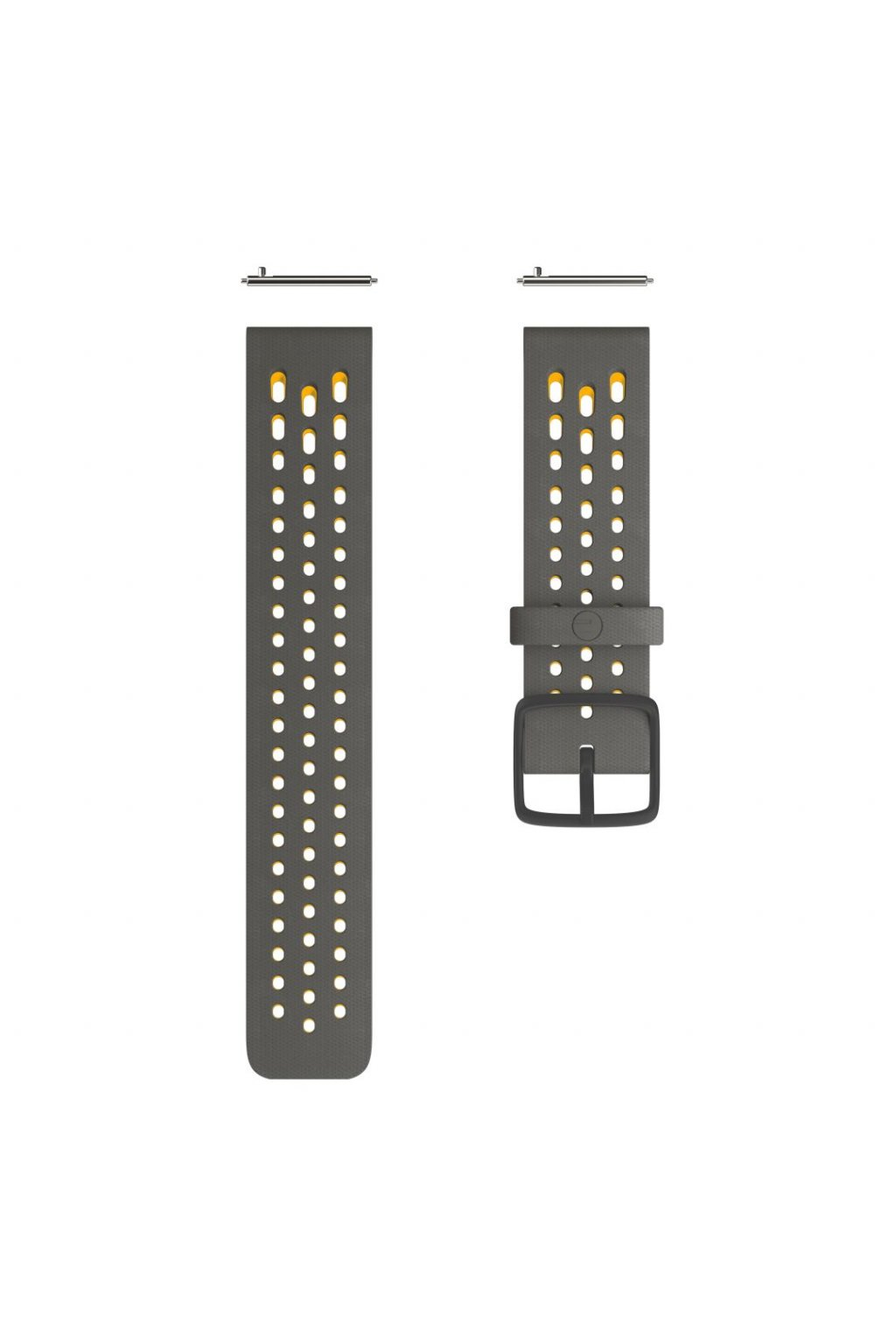 Polar Vantage M2 Accessory wristband front Gun Grey