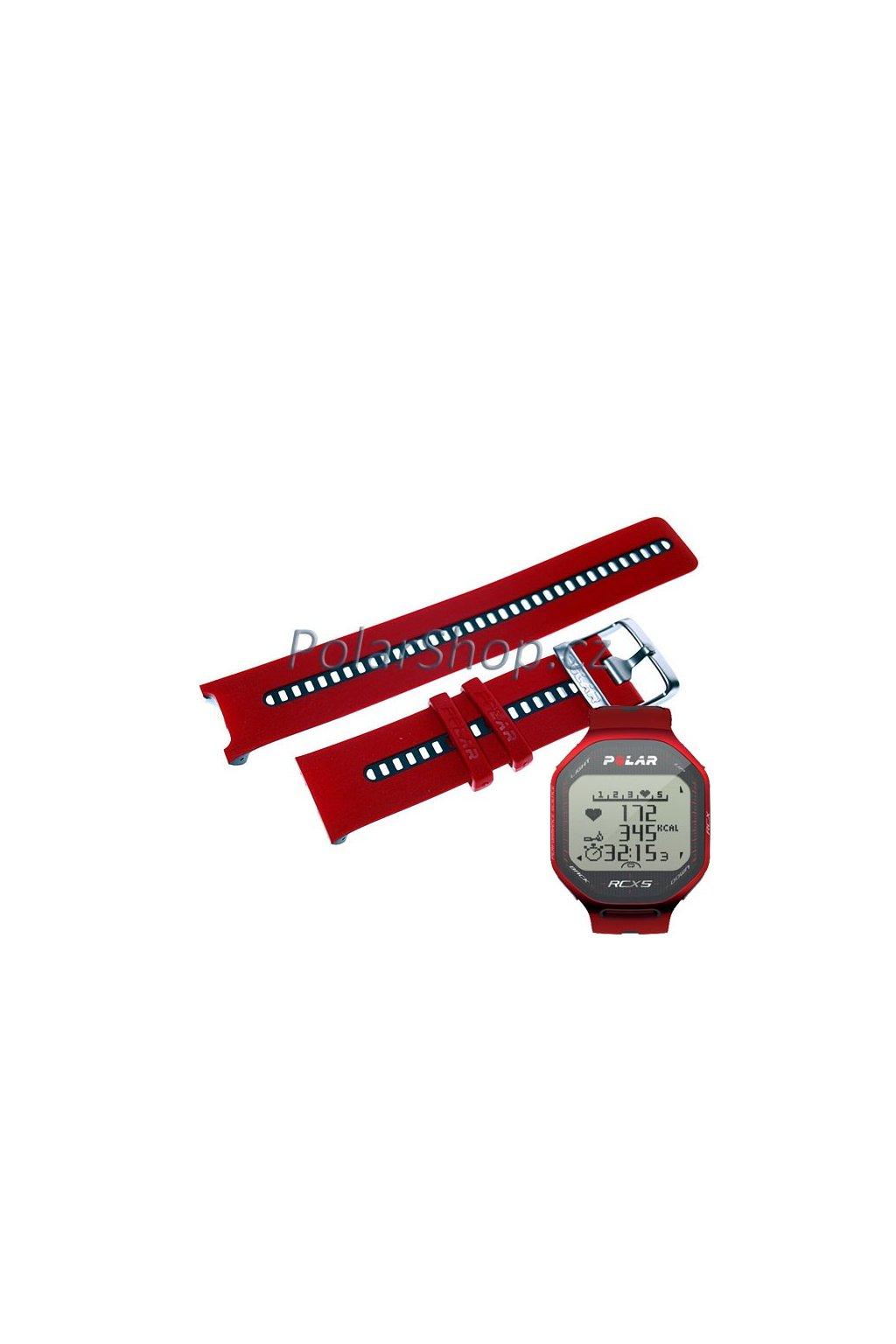 Řemínek RCX5 RED