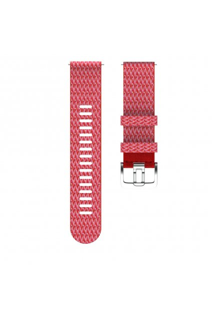 Polar Grit X wristband paracord red 2