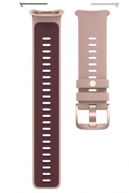 Polar Vantage V2 silicone wristband combo rose plum