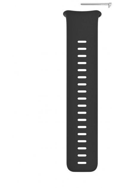 Polar Vantage V2 silicone wristband front black S
