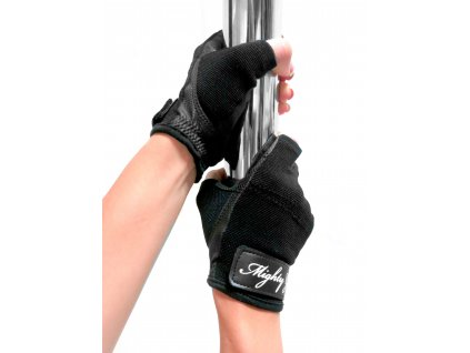 Mighty Grip Glove NonTack Black1