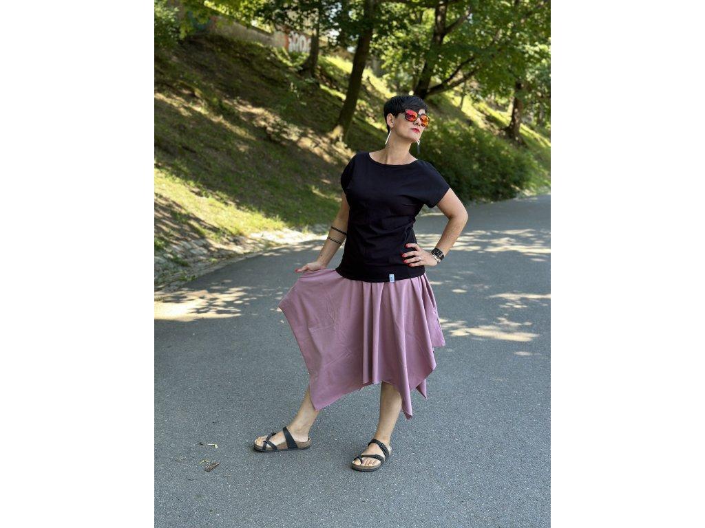 Šaty Tereza - jednobarevné