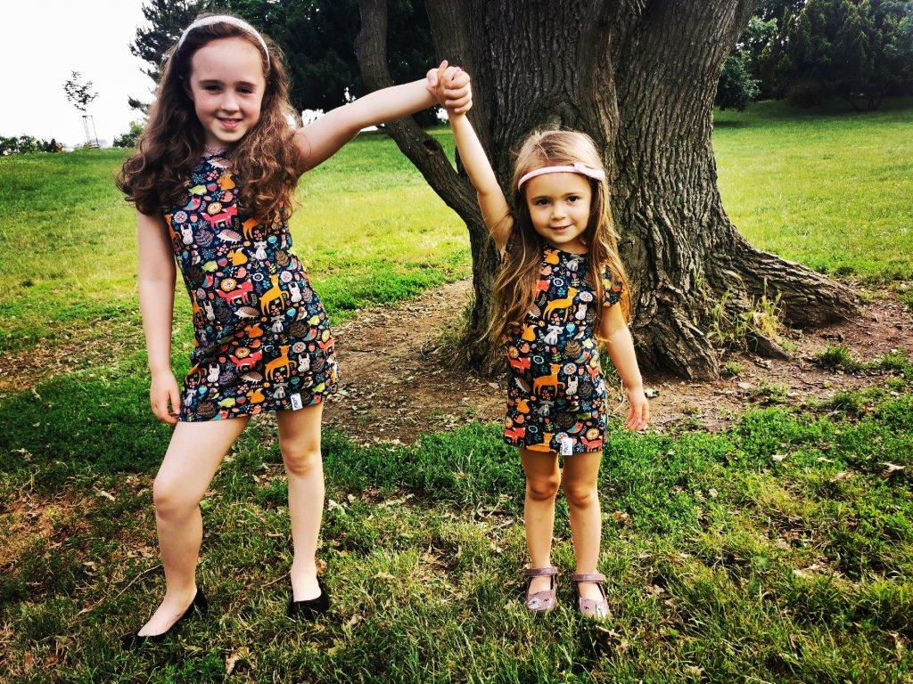 Dětské šaty Ivet - zvířátka