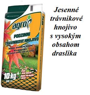 jesenné hnojivo