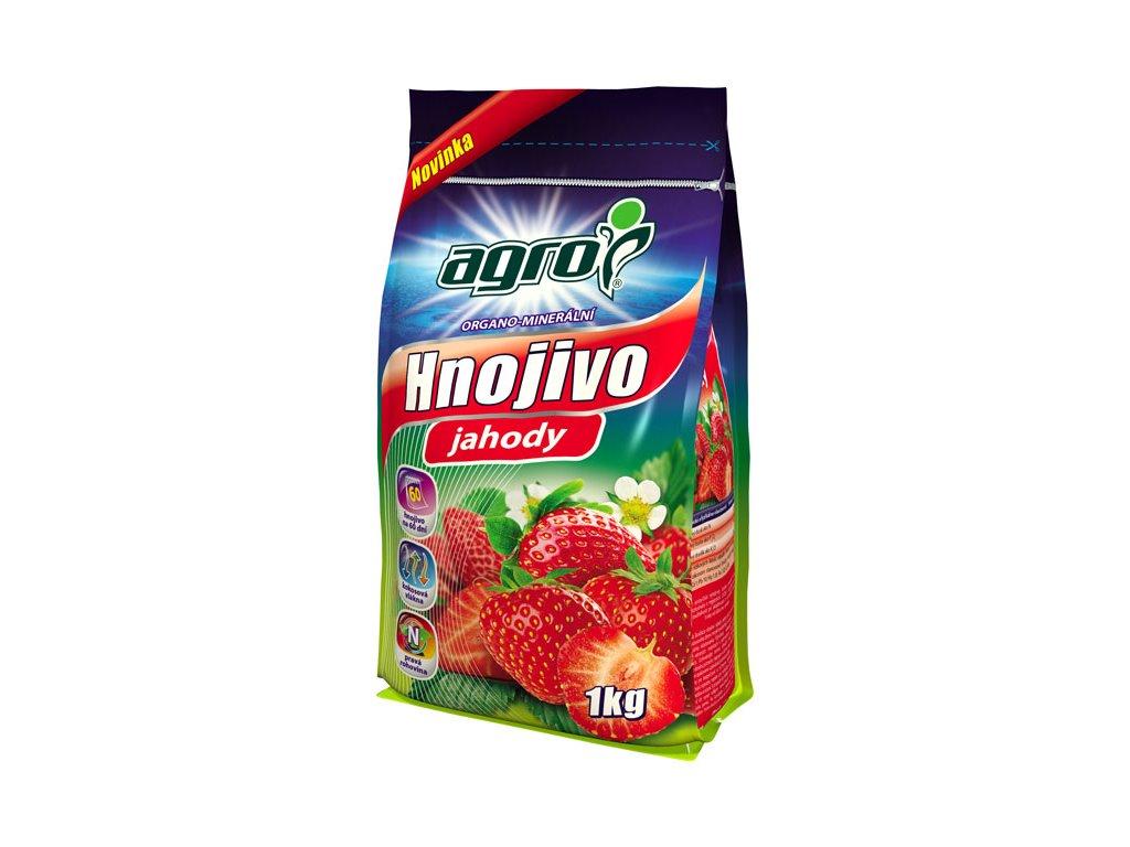 Organicko-minerálne hnojivo na jahody